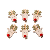 Picture of Wooden pegs - Reindeers