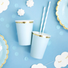 Picture of Paper cups - light blue