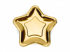 Picture of Paper Plates - Star gold (18cm)