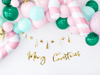 Picture of Μini balloons - Mint (10pcs)