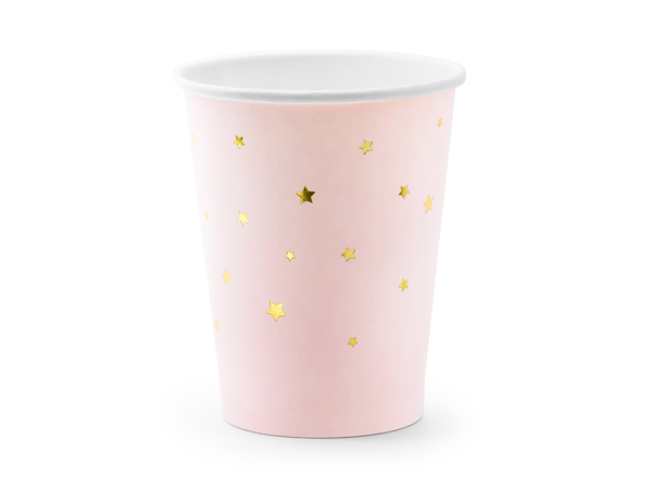 Picture of Cups Stars, light pink, 260ml