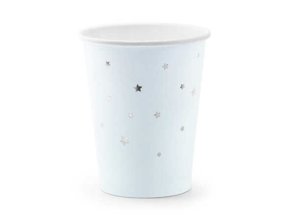 Picture of Cups Stars, light blue, 260ml