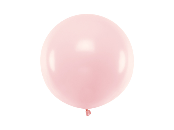 Picture of Round Balloon 60cm, Pastel Pale Pink