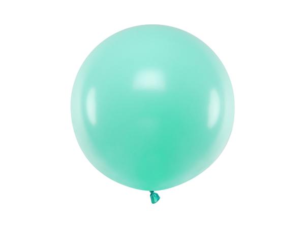 Μπαλόνι παστέλ mint (60εκ.)