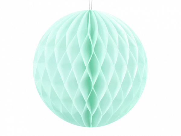 Picture of Ηoneycomb ball - Mint (10cm)