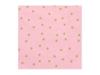 Χαρτοπετσέτες ροζ με αστεράκια