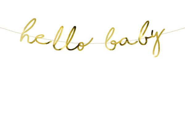 Γιρλάντα - Hello Baby!