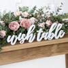Picture of Wooden inscription - Wish table