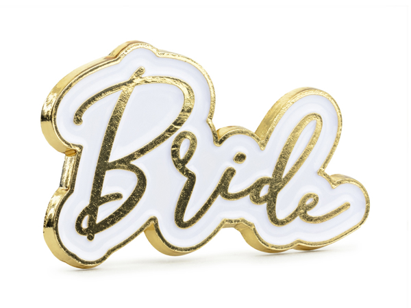 Picture of Enamel pin - Bride