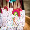 Picture of Treat bags - Rainbow with dots
