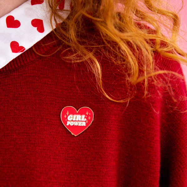 Picture of Enamel pin - Heart