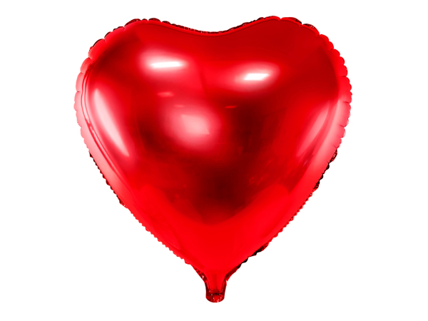 Picture of Heart Balloon - Red