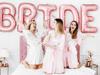 Μπαλόνια σετ BRIDE ροζ χρυσό