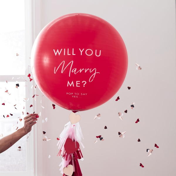Μπαλόνι Large - Will You Marry Me?