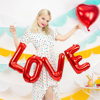 Μπαλόνια σετ Love κόκκινο