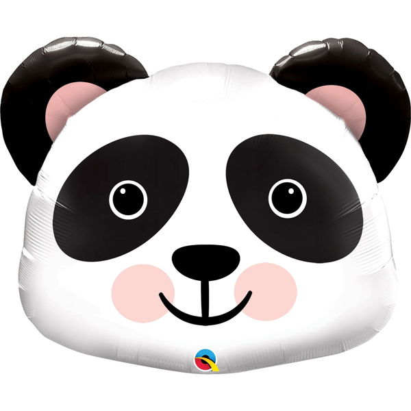 Picture of Foil Panda head balloon
