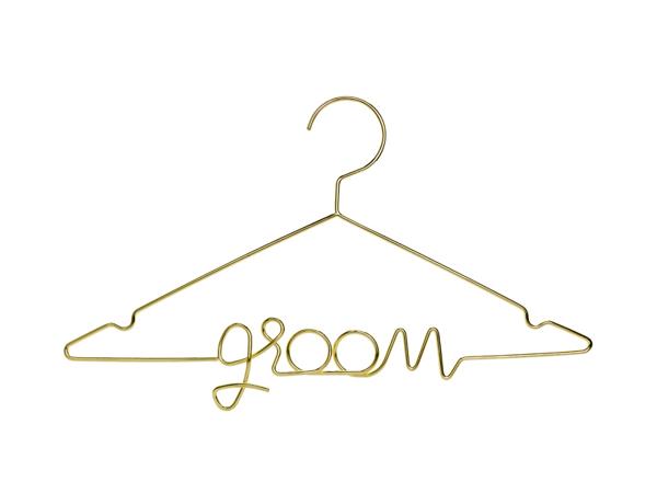 Μεταλλική κρεμάστρα - Groom