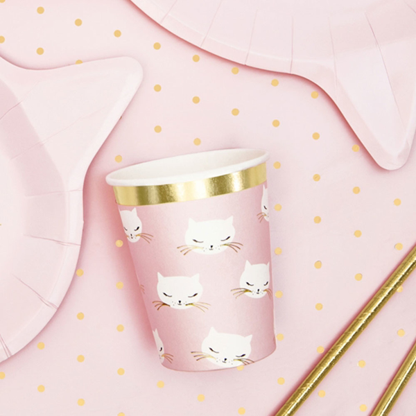 Picture of Paper cups - Cat