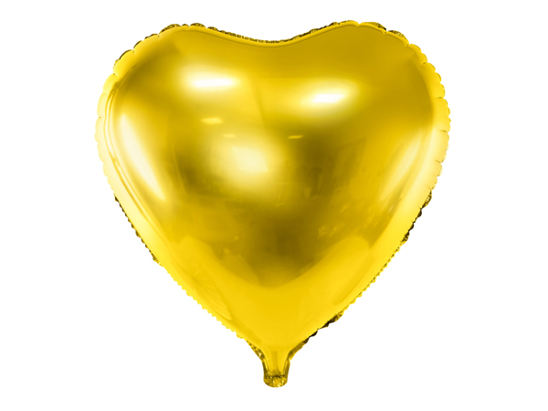 Picture of Heart Balloon - Gold