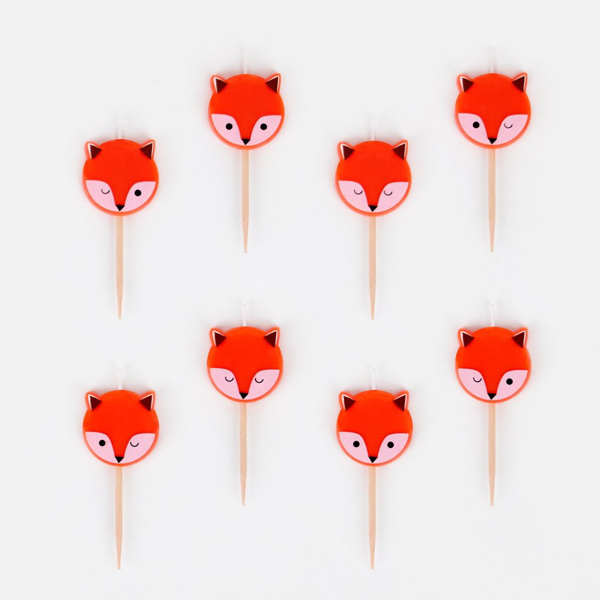 Picture of Cake candles - Little fox