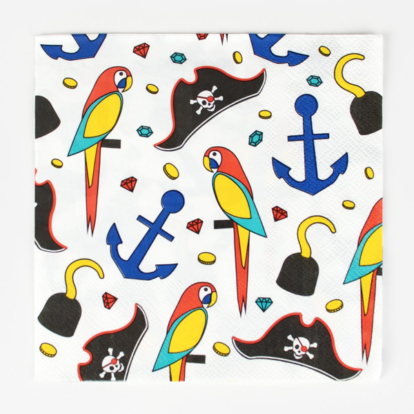 Picture of Paper Napkins - Pirate