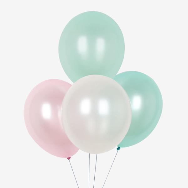 Σετ μπαλόνια - Metallic pastel (10τμχ)