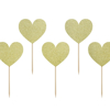 Picture of Cupcake toppers Sweet Love - Hearts