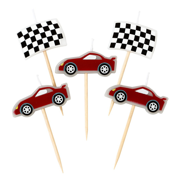 Picture of Candles - Racing car
