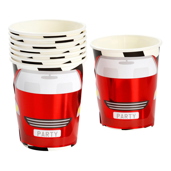 Picture of Paper cups - Racing car
