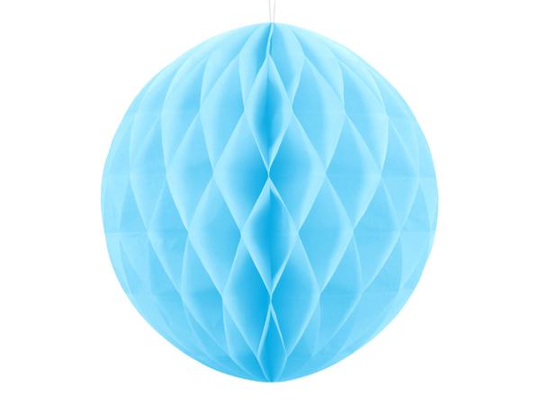 Χάρτινη μπάλα - Γαλάζια (30εκ)
