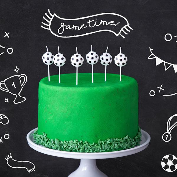 Κεράκια για τούρτα - Ποδόσφαιρο