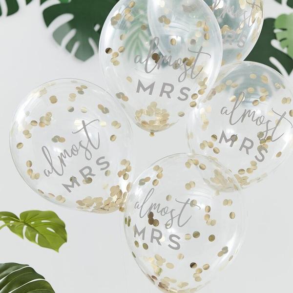 Picture of Confetti Ballons - Almost Mrs