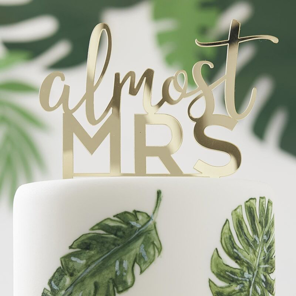 Picture of Cake topper - Almost Mrs