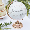 Picture of Alternative wedding guest book - Globe