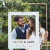 Picture of Personalised wedding frame (copper)