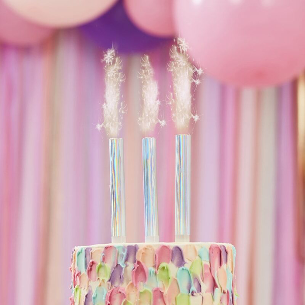 Picture of Iridiscent Cake Fountains (set 3)