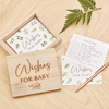 Picture of Wooden box - Wishes for baby