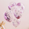 Picture of Pink glitter balloons