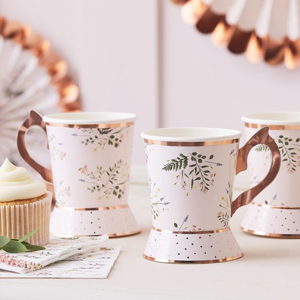 Picture of Paper cups - Tea party