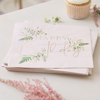Picture of Paper napkins - Happy birthday floral