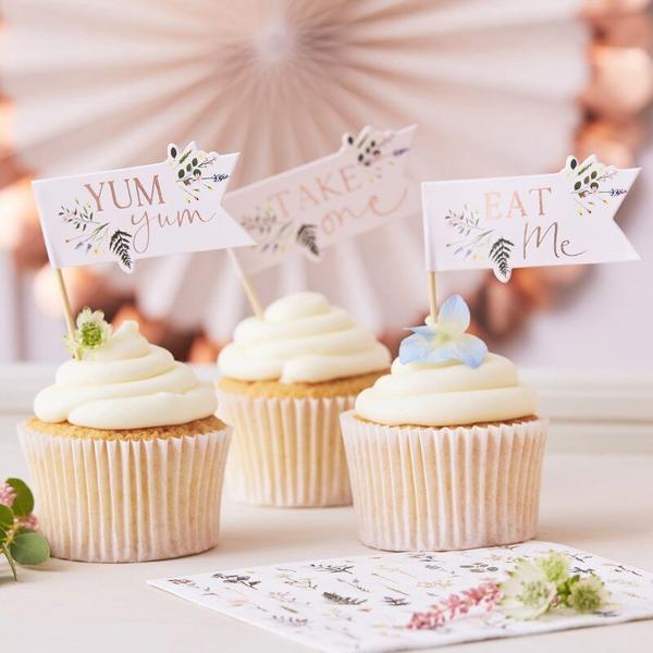 Picture of Cupcake toppers - Tea party