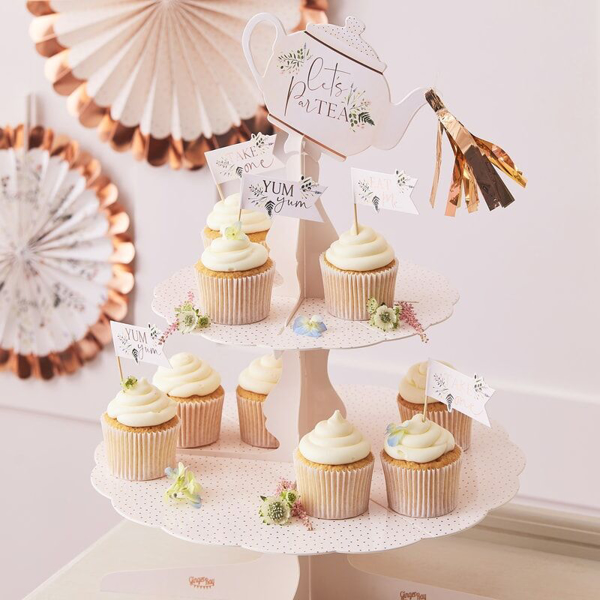 Picture of Cupcake stand - Tea party