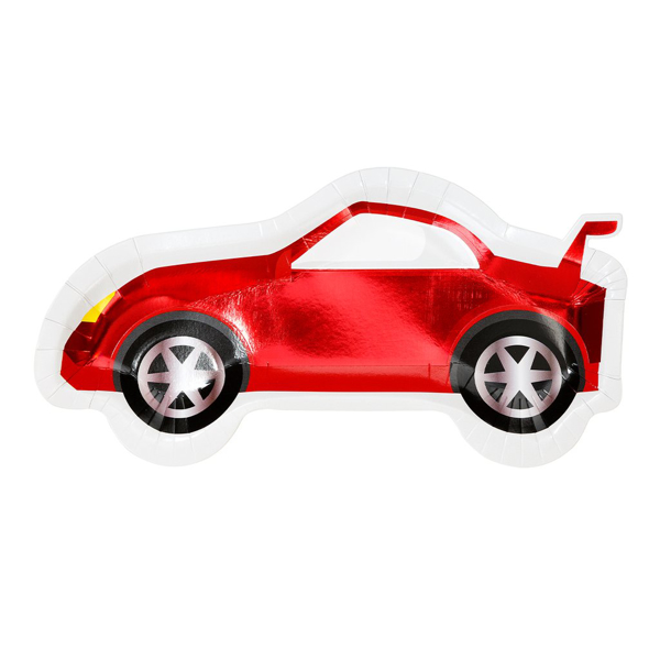 Picture of Paper plates - Racing car