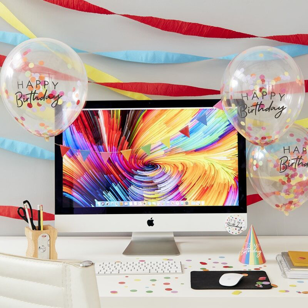 Picture of Work desk party kit - Happy Birthday