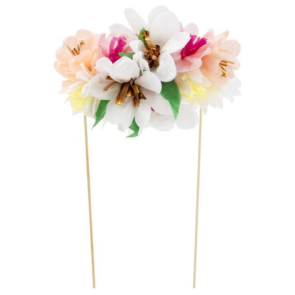 Picture of Cake topper - Flower Bouquet