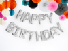 Picture of Foil Balloons Kit HAPPY BIRTHDAY silver