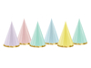 Picture of Party hats - Pastel (6pcs)