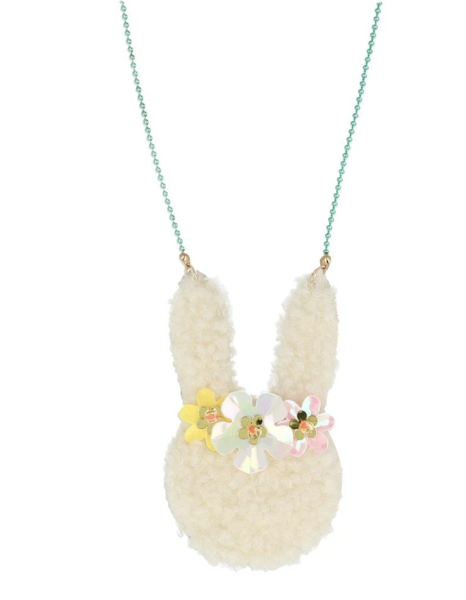 Picture of Necklace - Floral Bunny