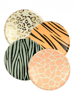 Picture of Side paper plates - Safari animal print
