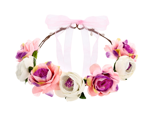 Picture of Flower crown, mix, 17cm